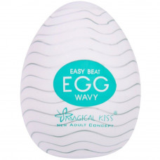 Egg Masturbador Wavy Easy One Cap Magical Kiss